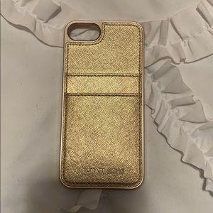 Michael Kors iPhone 7/8 Wallet Case